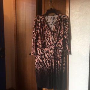 JLO Animal Print Dress